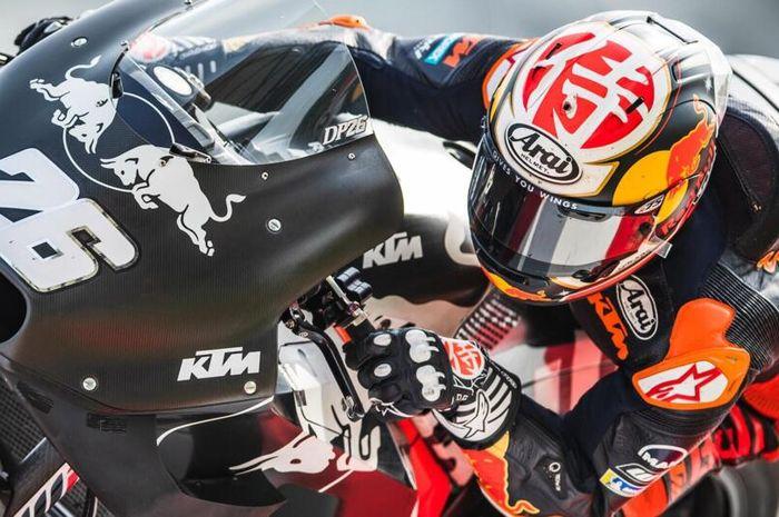 Jalani pengetesan terakhir di musim 2020, mantan pembalap tim Repsol Honda, Dani Pedrosa tidak lagi menjadi test rider KTM?