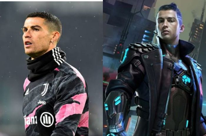 Cristiano Ronaldo jadi karakter Game