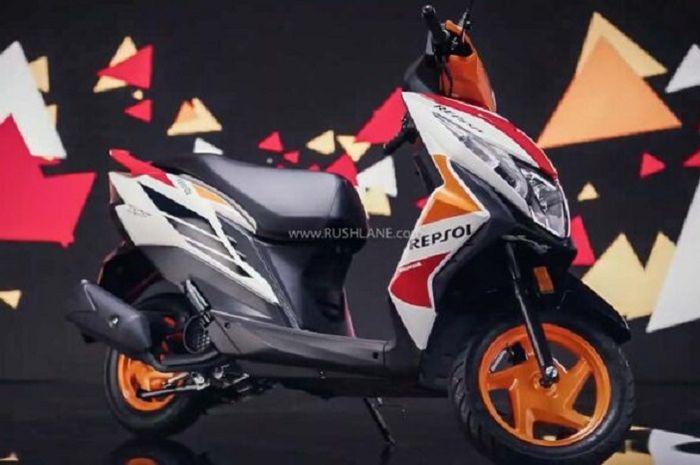 Saudara Honda BeAT meluncur pakai livery Repsol Honda yakni Honda Dio, harganya cuma Rp 13 jutaan