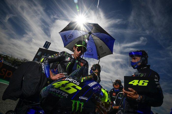 Ilustrasi. Valentino Rossi Valentino Rossi bikin video ucapan tahun baru.