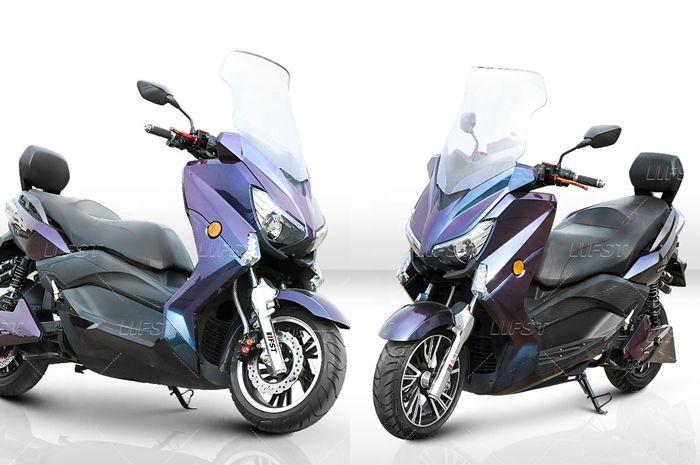 Motor listrik tampang Yamaha XMAX cuma seharga Honda BeAT.