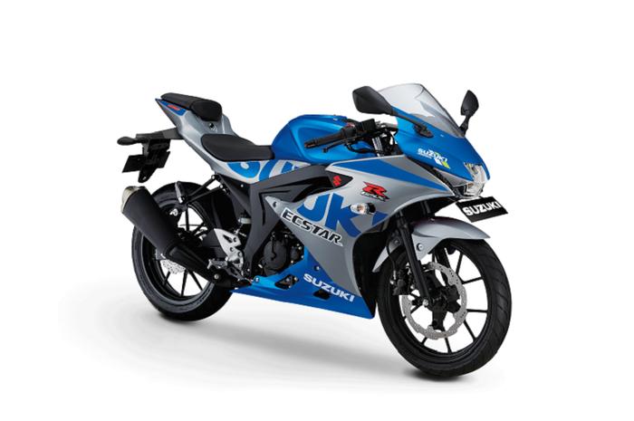 Suzuki GSX-R150 MotoGP Edition.