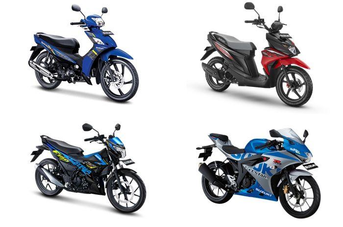 Ilustrasi motor baru Suzuki, saingan Honda BeAT dijual segini.