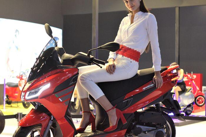 Udah bisa PO pesaing Yamaha NMAX sebentar lagi nongol, Aprilia SXR 160 aneka pilihan warnanya keren