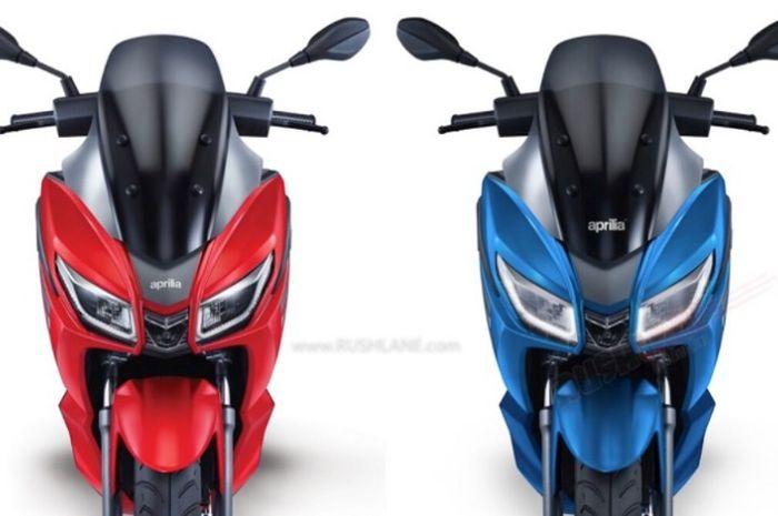 Pesaing Yamaha NMAX udah bisa dipesan, desain keren ada 4 pilihan warna menarik.