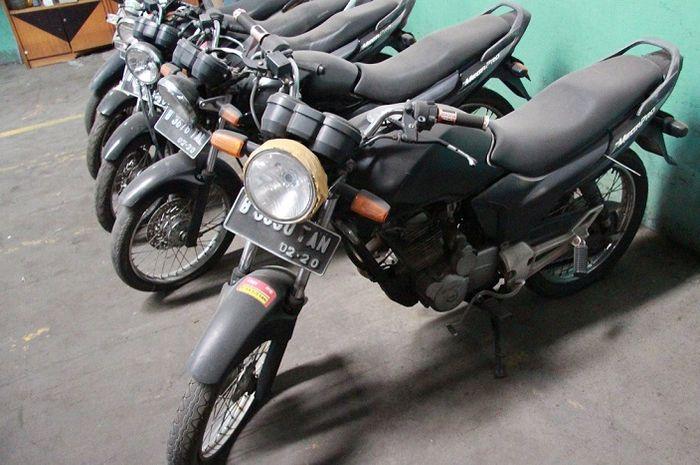 Lelang Motor dan Kendaraan Lain Borongan, Ada Honda MegaPro dan BeAT.