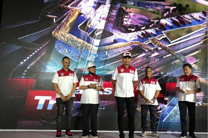 Pembalap Indonesia, Dimas Ekky Pratama gagal turun di Moto2 bareng Pertamina Mandalika SAG Team