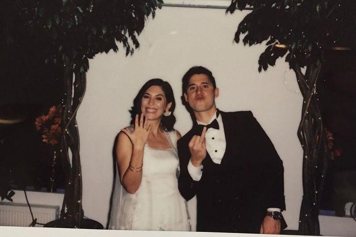 Hannah Al Rashid resmi menikah dengan Nino Fernandez, ternyata suka naik ojek online keliling Jakarta.