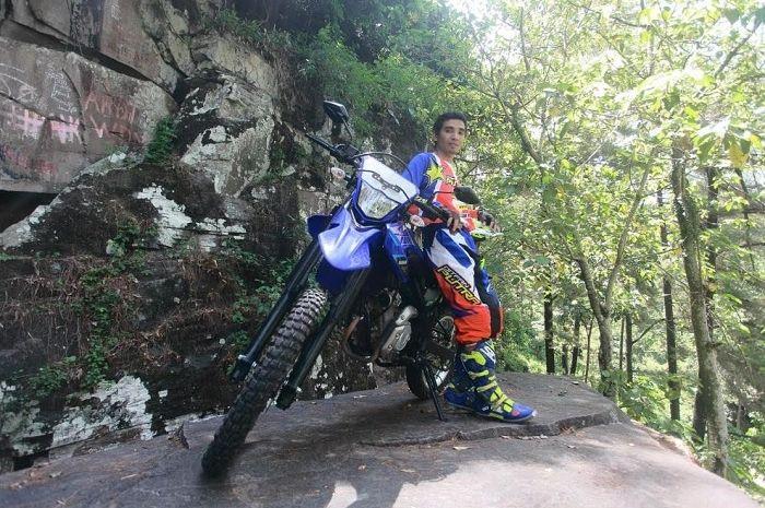 Muzakir si Raja Tanjakan apresiasi kehebatan Yamaha WR 155R.