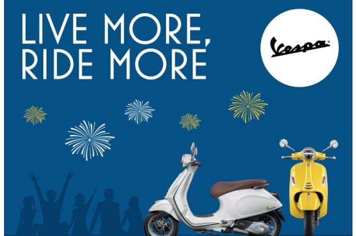 Bertajuk Live More Ride More, Piaggio dan Vespa Kasih Tawaran Menarik di Awal 2021