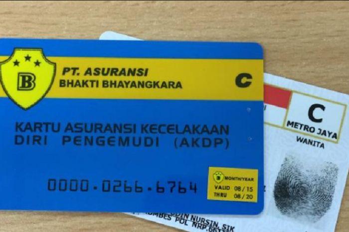 Kartu biru saat bikin SIM ternyata bisa dijadikan uang tunai, bikers sudah tahu?