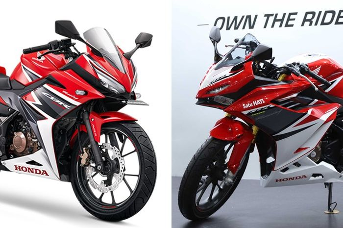 Honda CBR150R lama dibanding versi baru buat tahun 2021