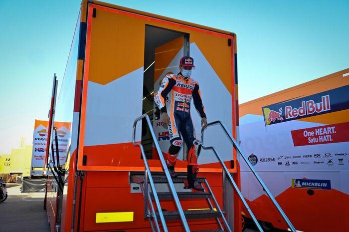 Jelang MotoGP 2021, Honda menggelar konferensi pers tentang hasil yang didapat pada tahun sebelumnya dan kondisi dari Marc Marquez.