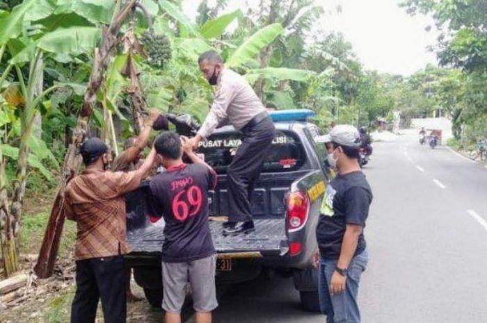 Kecelakaan motor pelajar tabrak petani hingga meninggal dunia di Gunugkidul, Jumat (15/1/2021)