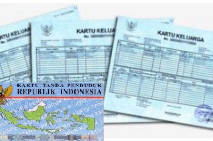 Ilustrasi KK dan KTP syarat dapat PKH