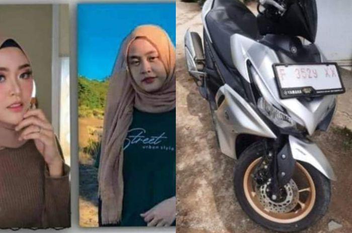 Dicari wanita hilang bersama motor Yamaha Aerox