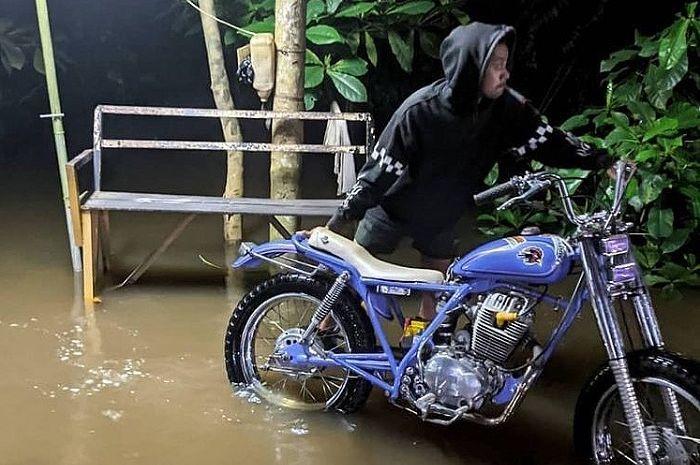 Bikers ikutan yuk donasi untuk bantu korban banjir Kalimantan Selatan