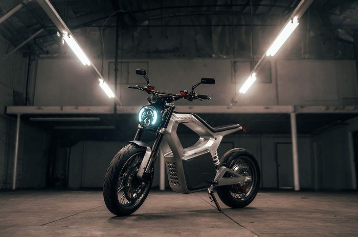 Detail motor listrik Sondors Metacycle, desain keren dan banyak fitur canggih.