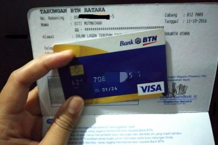 Siapin buku tabungan, ATM dan data diri bantuan uang Rp 2,4 juta bisa dicairkan.
