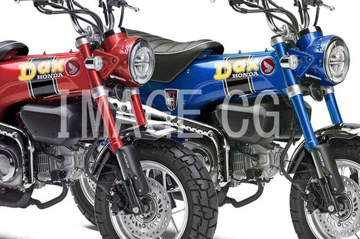 Wow, motor mini legendaris Honda ST125 DAX siap lahir kembali tahun ini!