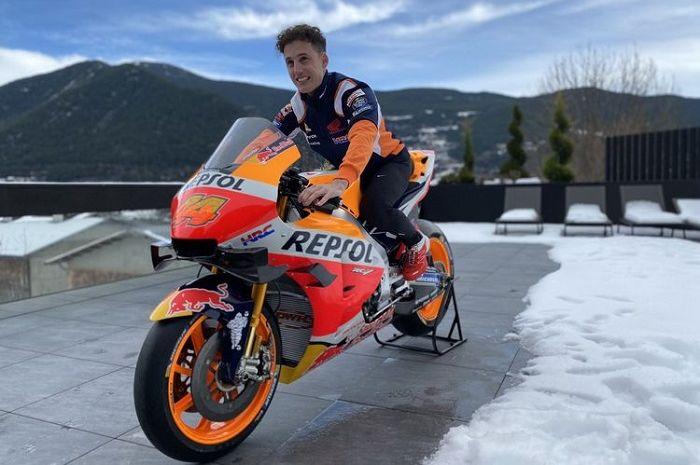 Ilustrasi. Jadwal MotoGP 2021 diperbarui, rekan setim Marc Marquez, Pol Espargaro berharap begini.