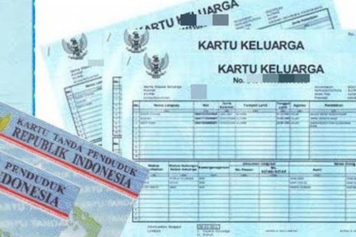Ilustrasi KTP dan KK. Bantuan Rp 3 juta dibagikan 3 bulan nonstop, daftar pakai KTP dan KK.
