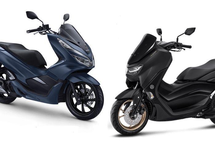 Ilustrasi. Cek harga motor matic baru 150 cc sebelum Honda PCX 160 launching di Indonesia.