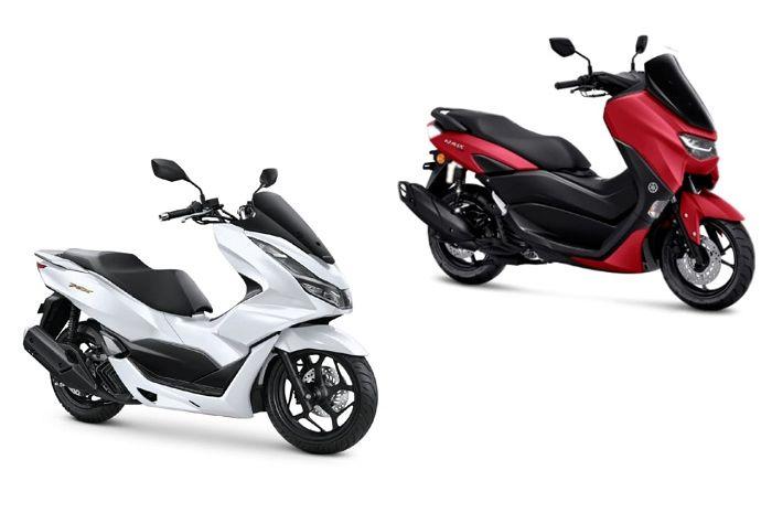 Komparasi Yamaha NMAX 155 dan Honda PCX 160