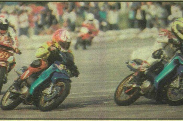 Sirkuit legenda balap road race underbone 2-tak yang sempat membuat pembalap dan mekanik bingung memilih knalpot.