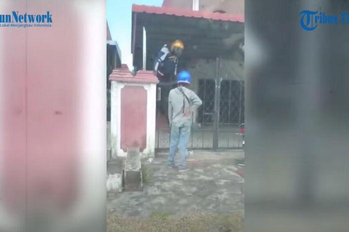 Viral, video maling kepergok pemilik rumah di Malaysia, alasan maling tersebut malah bikin naik darah.