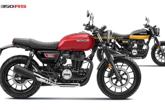 Motor baru Honda 350 cc bergaya scrambler resmi meluncur, harganya cuma segini.