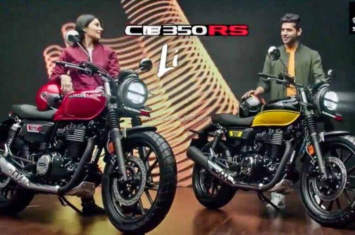 Dijual Rp 30 jutaan, motor baru Honda CB350 RS punya fitur komplit.