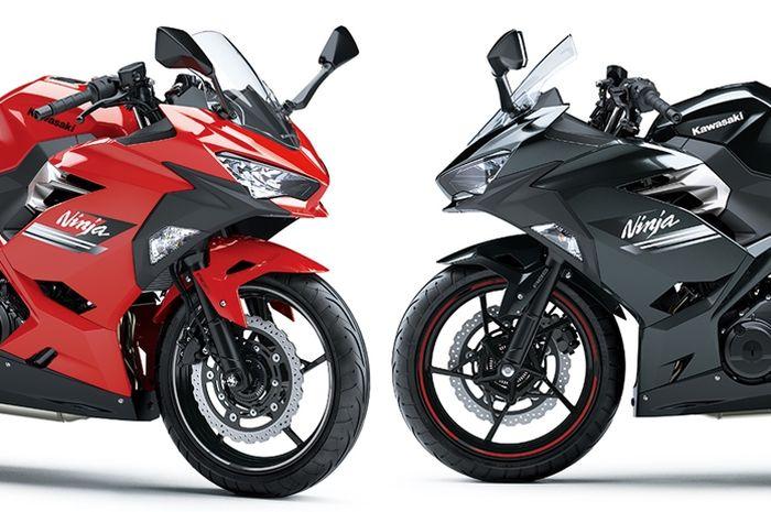 Dua warna baru Kawasaki Ninja 250 versi 2021
