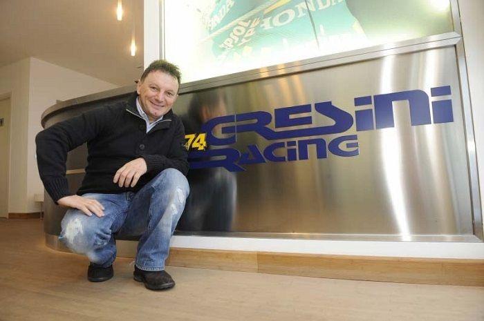 Sedih, ini pesan dari warga paddock MotoGP untuk pemilik tim Gresini Racing, Fausto Gresini yang meninggal dunia karena Covid-19.