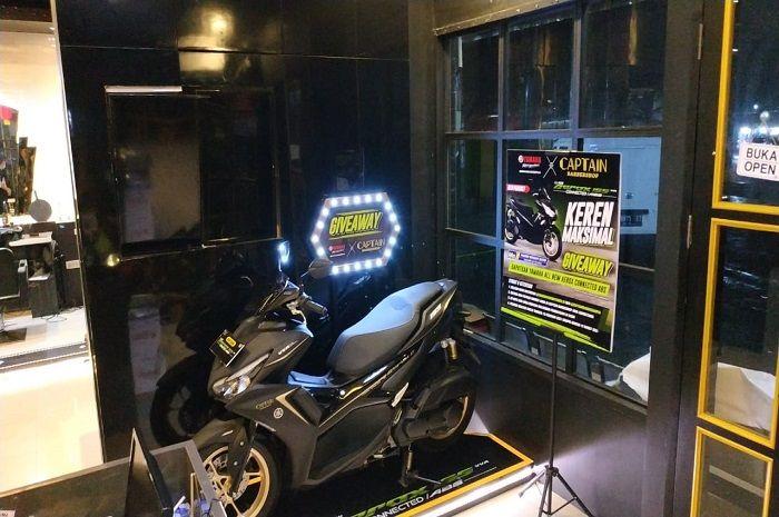 Yamaha Aerox termahal bisa dibawa pulang cuma-cuma, syaratnya cukur rambut.