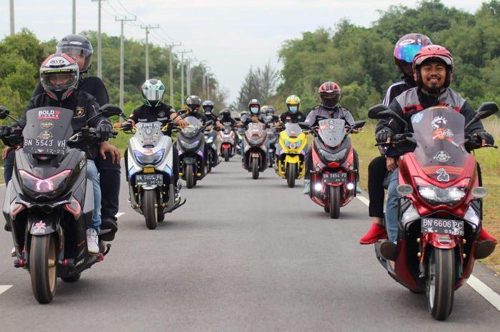 Makin Ramai, Kini Ada 11 Komunitas MAXI Yamaha di Bangka Belitung