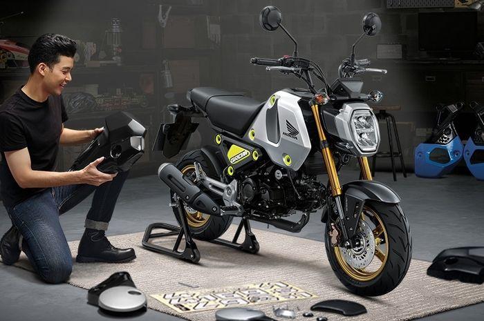 Motor baru 2021 Honda Grom versi terbaru
