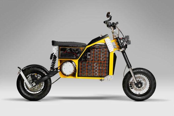 Keren, konsep motor listrik modular asal Inggris, bisa berubah bentuk!