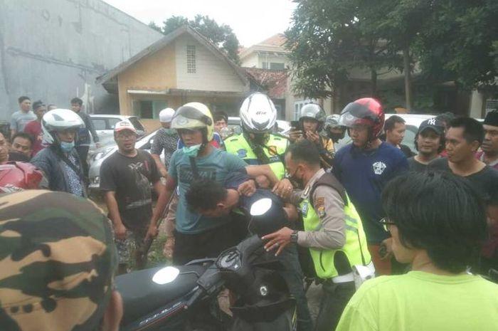 Menegangkan, Korban Begal Kejar Pelaku Sampai 6 Kilometer, Langsung Dibantu Polisi