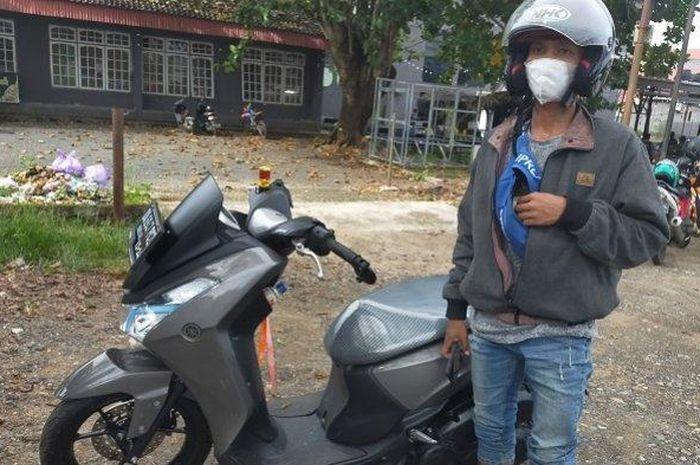 Miris driver ojek online di Banjarbaru, Kalimantan Selatan kena orderan fiktif, uang ratusan ribu rupiah pun melayang.