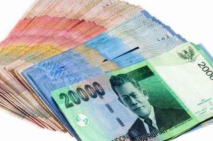 Ilustrasi uang bantuan pemerintah atau bansos BST