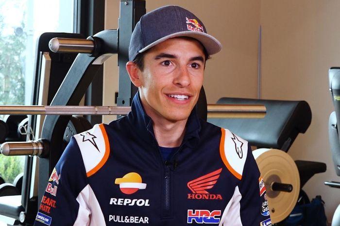 Marc Marquez masuk daftar pembalap MotoGP Qatar 2021, udah siap balapan?