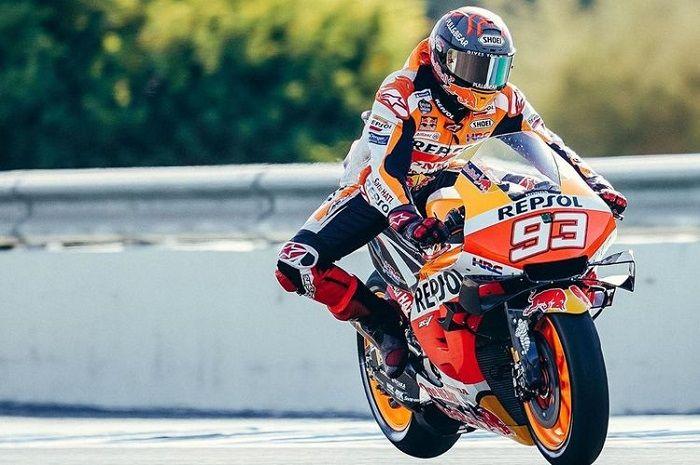 Marc Marquez ngegas motor balap, siap gaspol MotoGP 2021?