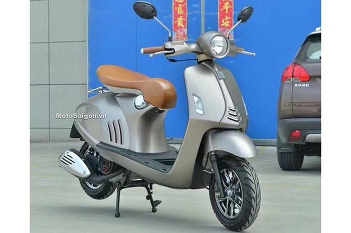 Murah meriah motor baru Vespa 946 versi KW dijual cuma Rp 6 jutaan.