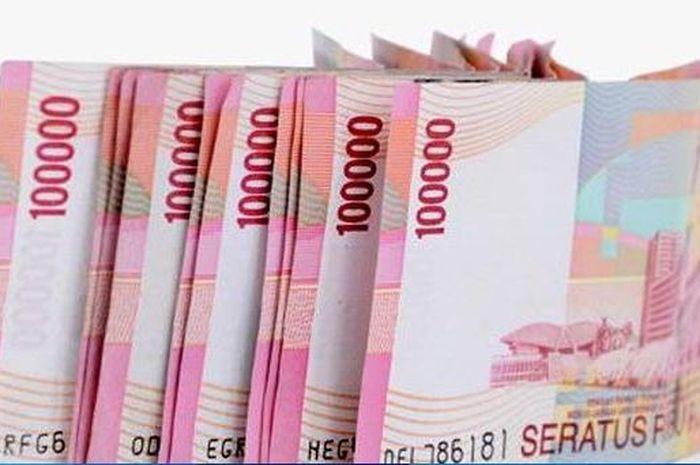 Uang ilustrasi bantuan pemerintah Rp 3,55 juta