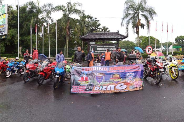Komunitas motor GSX Community Nusantara (GCN) tuntaskan turing gabungan (Turgab) Part 2, mengexplore Jawa Tengah.