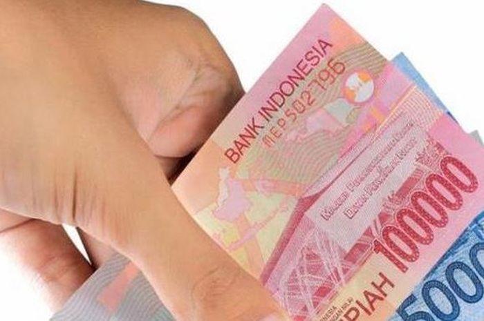 Uang ilustrasi bantuan pemerintah Rp 300 ribu dari BST untuk PKH