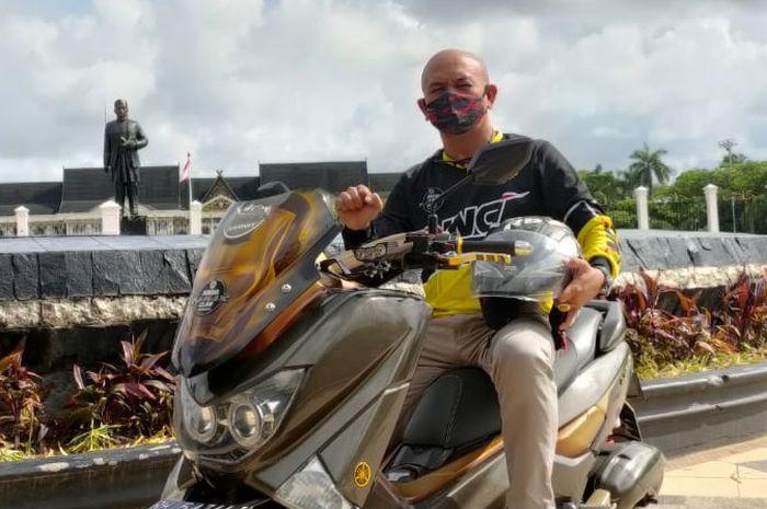 Penasaran Berujung Jatuh Cinta, Cerita Ketum YNCI Jambi Saat Memilih Yamaha NMAX