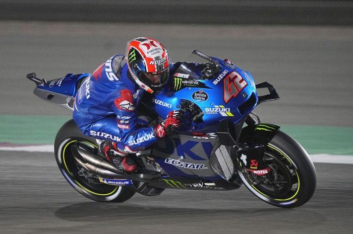 Pembalap tim Suzuki Ecstar, Alex Rins ternyata lupa menyalakan launch control saat start di MotoGP Qatar 2021.