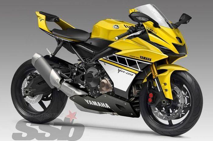 Motor sport baru Yamaha R9 bakal meluncur, pakai mesin MT-09?
